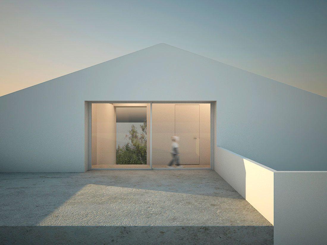 casa entre almendros | homu arquitectos - estudio de arquitectura en valencia
