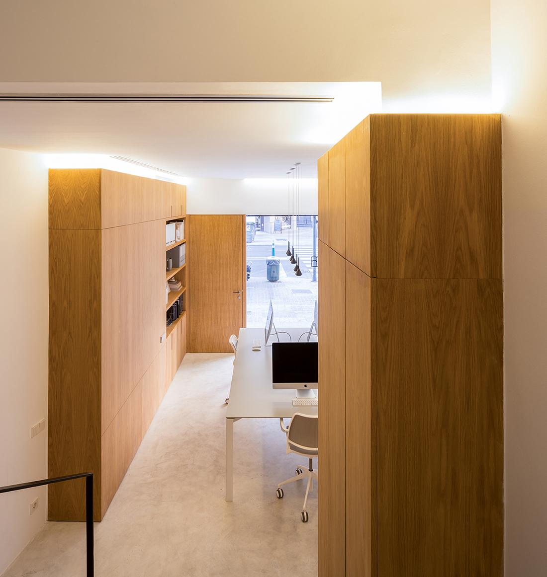homu arquitectos estudio de arquitectura proyecto de reforma local comercial